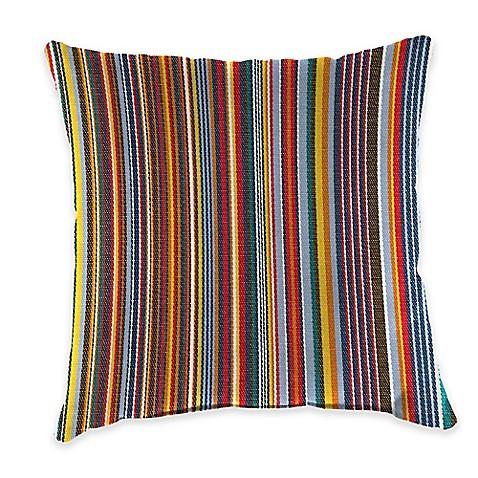 Outdoor Throw Pillow In Sunbrella Mode Seaside Bed Bath