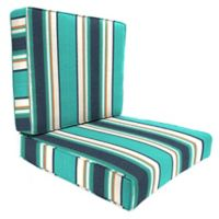 24-Inch x 24-Inch 2-Piece Deep Seat Chair Cushion in Sunbrella® Token Surfside