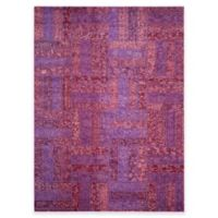 Safavieh Monaco Parquet 8-Foot x 11-Foot Area Rug in Purple Multi