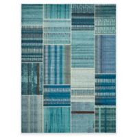 Safavieh Monaco Patchwork 9-Foot x 12-Foot Area Rug in Blue Multi