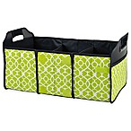 Picnic at Ascot Trunk Organizer in Trellis Green