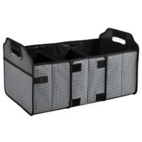 Picnic at Ascot Trunk Organizer in Houndstooth