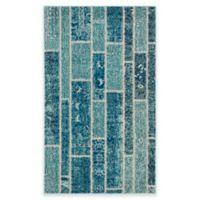 Safavieh Monaco Planks 4-Foot x 5-Foot 7-Inch Area Rug in Blue Multi