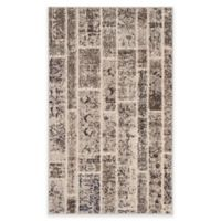 Safavieh Monaco Planks 4-Foot x 5-Foot 7-Inch Area Rug in Beige Multi