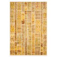 Safavieh Monaco Planks Area 6-Foot 7-Inch x 9-Foot 2-Inch Area Rug in Yellow Multi