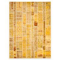 Safavieh Monaco Planks 9-Foot x 12-Foot Area Rug in Yellow Multi
