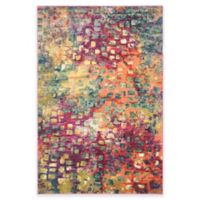 Safavieh Monaco Watercolor 5-Foot 1-Inch x 7-Foot 7-Inch Area Rug in Pink Multi