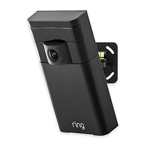 Ring Stick Up Cam Wire Free Outdoor Security Camera Bed