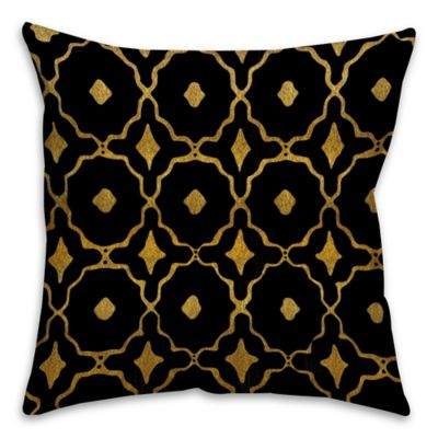 Black Throw Pillows Bed Bath And Beyond