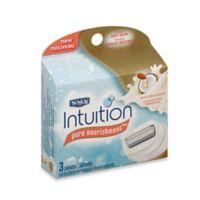 Schick® Intuition® Pure Nourishment® 3-Count Refills