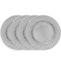 ChargeIt! by Jay Links Charger Plates in Silver (Set of 4)