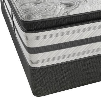 pillow top twin mattress. beautyrest® platinum™ jamestown plush pillow top twin mattress c