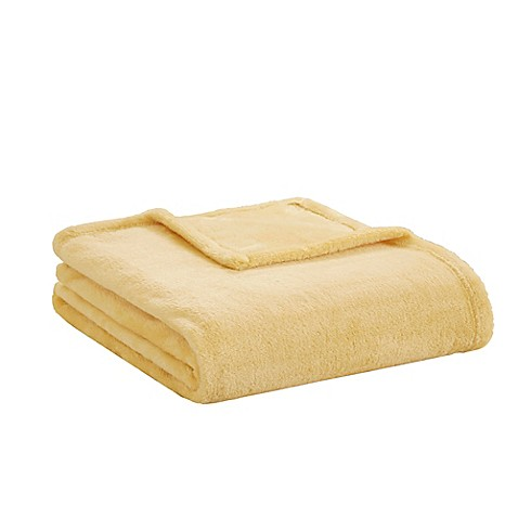 Buy Intelligent Design Microlight Plush Throw Blanket In