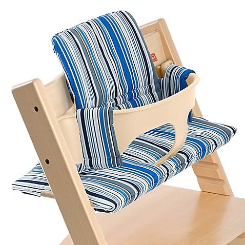 Stokke® Tripp Trapp® Cushion in Ocean Stripe - Bed Bath & Beyond