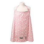 Petunia Pickle Bottom® Haven Organic Cotton Nursing Cover in Pink Blooming Brixham