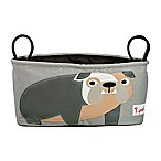 3 Sprouts Stroller Organizer in Grey Bulldog