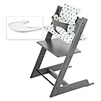 Stokke® Tripp Trapp® High Chair Complete Bundle in Storm Grey