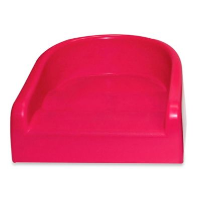 prince lionheart soft booster seat in flashbulb fuchsia