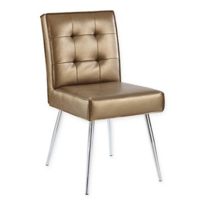 Buy Amity Tufted Accent Chair In Sizzle Copper From Bed Bath Beyond