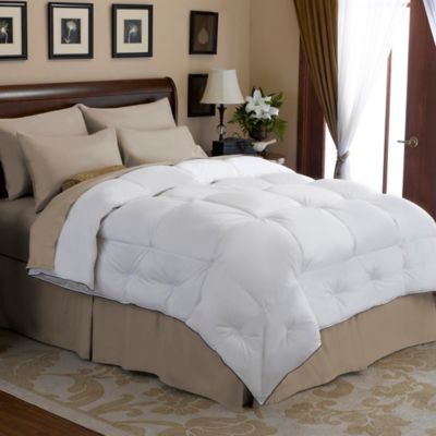 buy down feather comforter from bed bath & beyond