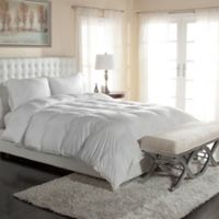 PrimaLoft® 400-Thread-Count Down Alternative Palatial King Comforter in White