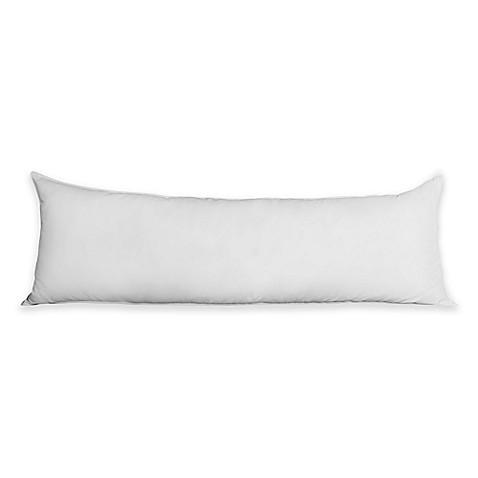 Primaloft 174 400 Thread Count Down Alternative Body Pillow