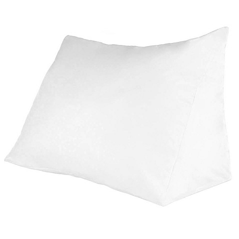 Remedy Down Alternative Reading Wedge Pillow Bed Bath