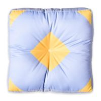 DENY Designs Triangle Footprint CC1 Square Floor Pillow