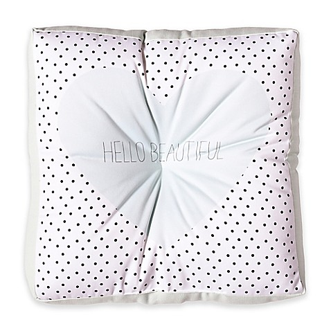 image of Deny Designs Allyson Johnson Hello Beautiful Square Floor Pillow