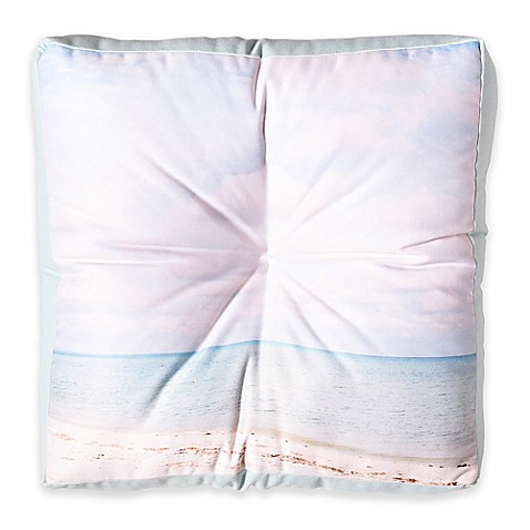 image of Deny Designs Bree Madden Dream Beach Square Floor Pillow