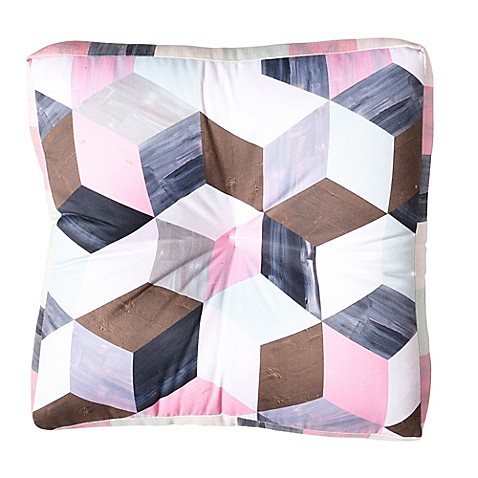 image of Deny Designs Dash and Ash Runaway Square Floor Pillow