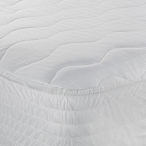 image of Therapedic® 300-Thread-Count Cotton Twin XL Mattress Pad