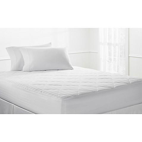 Therapedic 400 Thread Count Cotton Mattress Pad Bed