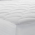 Therapedic® 500-Thread Count Queen Mattress Pad in White