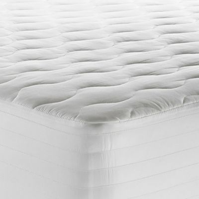 Theic 250 Thread Count Tencel Twin Xl Waterproof Mattress Pad In White