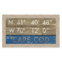 Framed Giclée Cape Cod Framed Coordinates Print Wall Art