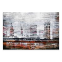 Parvez Taj 30-Inch x 20-Inch Brooklyn Bridge Canvas Wall Art