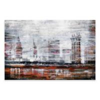 Parvez Taj 36-Inch x 24-Inch Brooklyn Bridge Canvas Wall Art