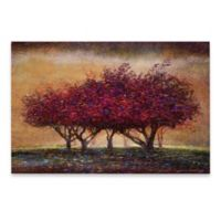 Marmont Hill 30-Inch x 20-Inch Crabapple Blossoms Canvas Wall Art