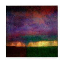 Marmont Hill Storm Sketch With Horses 40-Inch x 40-Inch Canvas Wall Art