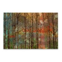 Marmont Hill Through The Trees 18-Inch x 12-Inch Canvas Wall Art