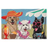 Trans-Ocean Front Porch Sassy Lassies 1-Foot 7-Inch x 2-Foot 5-Inch Indoor/Outdoor Door Mat