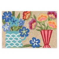 Trans-Ocean Front Porch Still Life 2-Foot x 3-Foot Indoor/Outdoor Door Mat