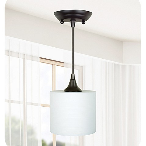 Mix Match Pendant Lighting With Mini Pendant Fitter In Bronze Bed Bath Beyond