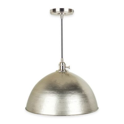 bed bath and beyond lighting. Mini-Pendant Fitter And Swag Light In Vintage Brushed Nickel Bed Bath Beyond Lighting