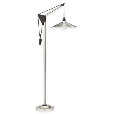 Pacific Coast® Lighting Industrial Pulley Floor Lamp