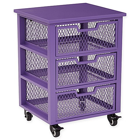 Office Star® Products Clayton 3 Drawer Rolling Cart