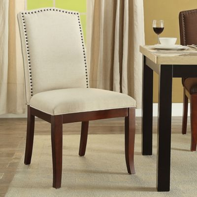 Buy Linen Dining Room Chairs From Bed Bath Beyond