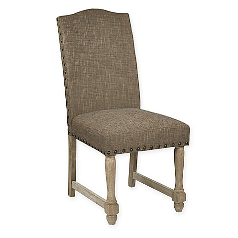 Buy Office Star Products Kingman Dining Chair In Chocolate From Bed Bath Am