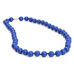 chewbeads® Jane Necklace in Cobalt Blue